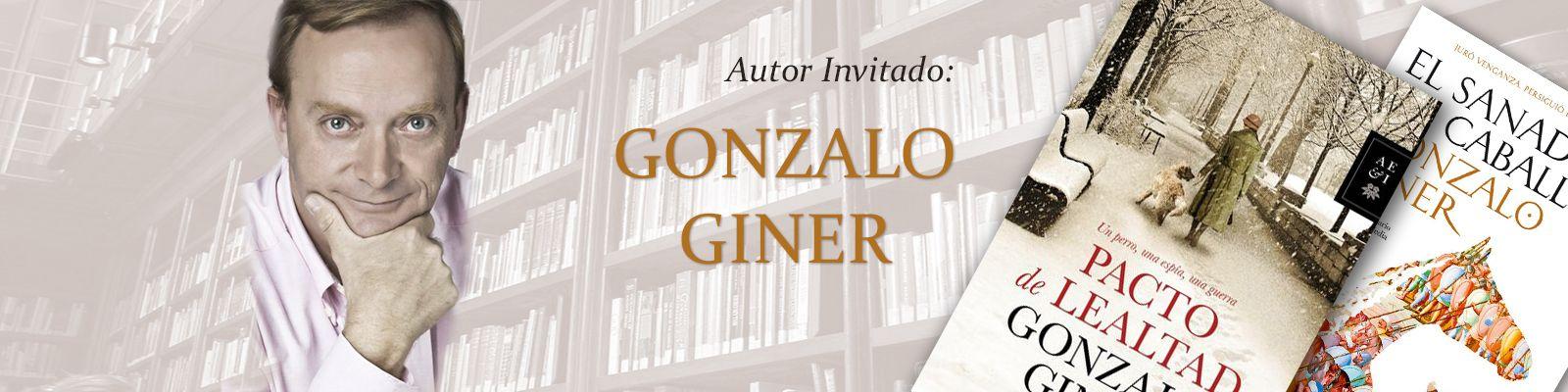 Gonzalo Giner, Autor invitado.